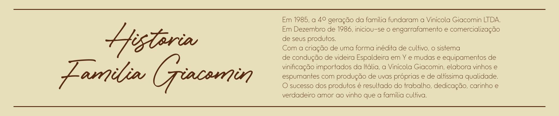 História Família Giacomin